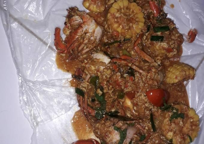 Resep Kepiting saus padang  Anti Gagal