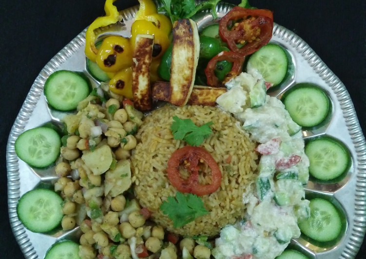 Recipe: Delicious Vegan platter