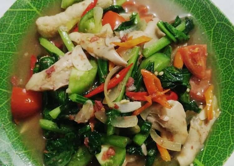 Tumis Sayuran Seadanya