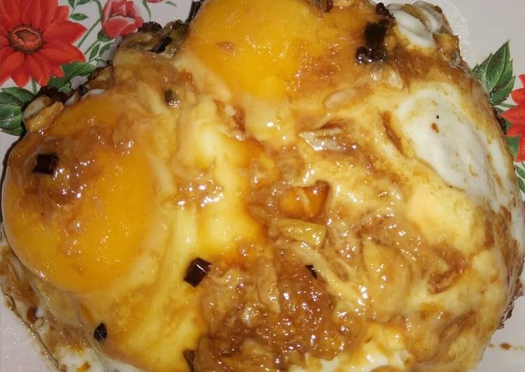 Nasi Telur Viral - Bekal Anak Kost Mantap!
