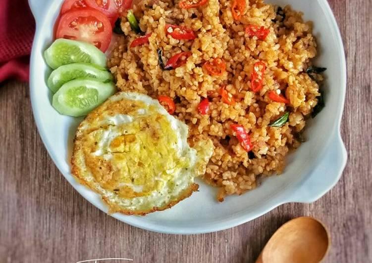 Resep Nasi goreng Jawa spesial Bikin Ngiler