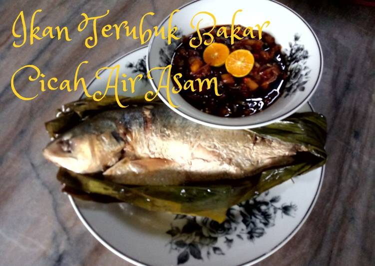Ikan Terubuk Bakar Cicah Air Asam - resepipouler.com