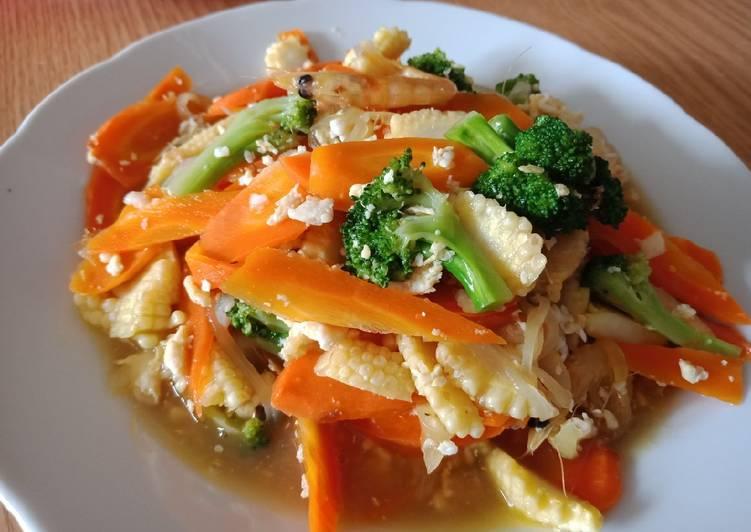 Tumis putren wortel brokoli