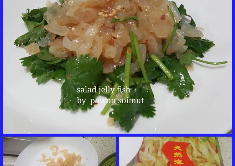 Salad jelly fish