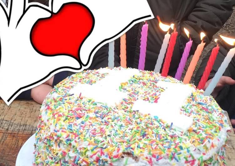 كيكة عيد ميلاد ابني بالصور من Bushra كوكباد