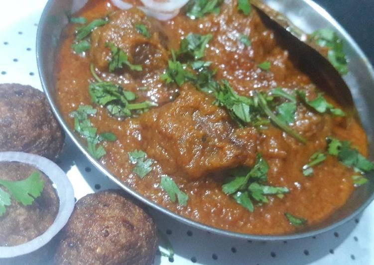 Recipe of Any-night-of-the-week Louki kofta curry (red gravy)