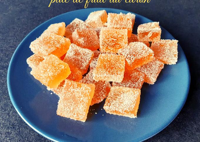 Pate de fruit au citron