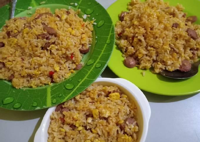 Nasi goreng kampung simple