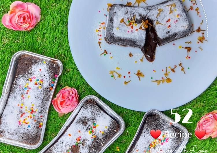 Cara Gampang Menyiapkan Choco Lava, Lezat