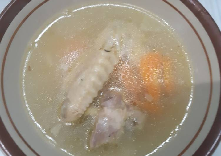 Resep Sop ayam kampung simpel, Sempurna
