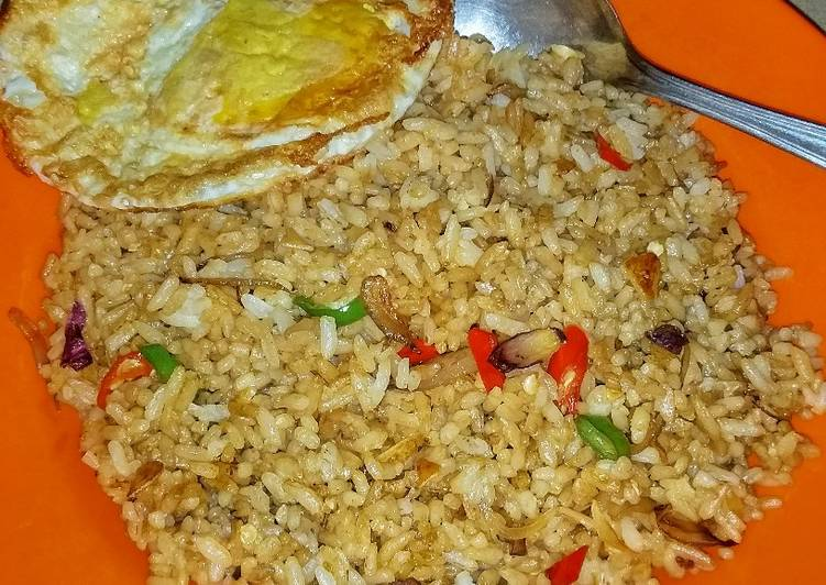 buat  kosong makan  nasi goreng Resepi Mee Goreng Sardin Enak dan Mudah