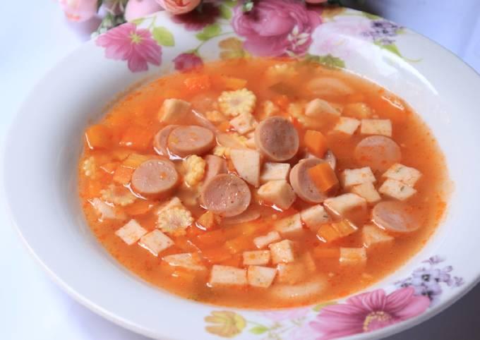 Sup Merah Catering pesta