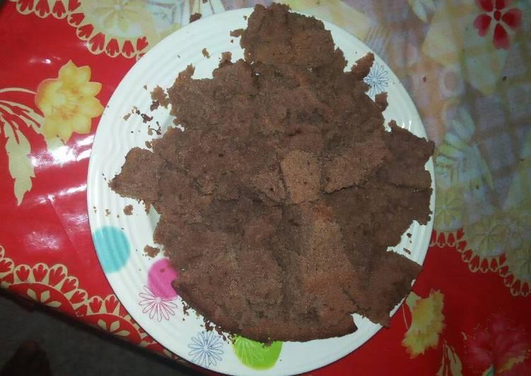 Chocolate cake using (melting) method #my cake recipe