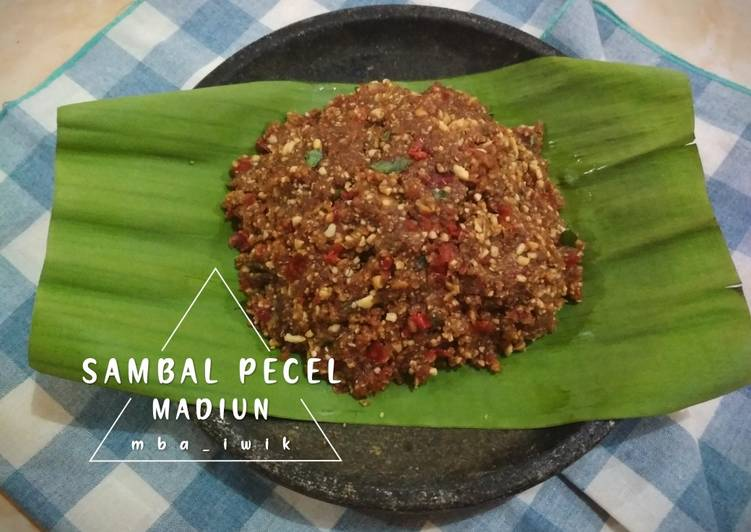 Resep Sambal Pecel khas Madiun🌶️ Anti Gagal