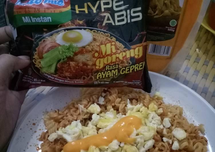 Indomie Ayam Geprek Hype Abis saus keju alaala #MommySvaHomemade