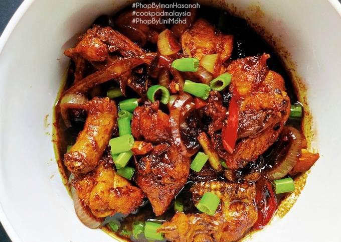 Ayam masak kicap #PhopByLiniMohd #batch21