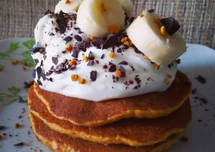 Pancakes Carrots & Banana