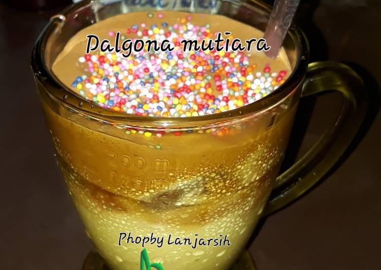 Dalgona mutiara