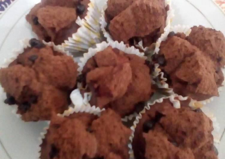 Bolu kukus brownies