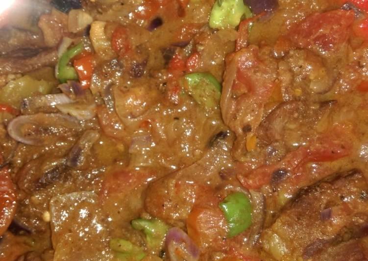 Pepper meat