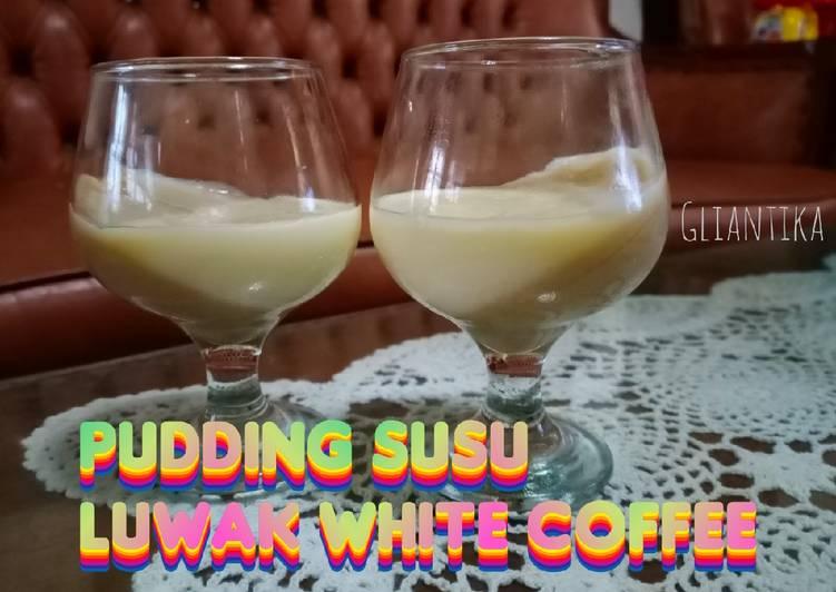 Puding Susu Luwak White Coffe