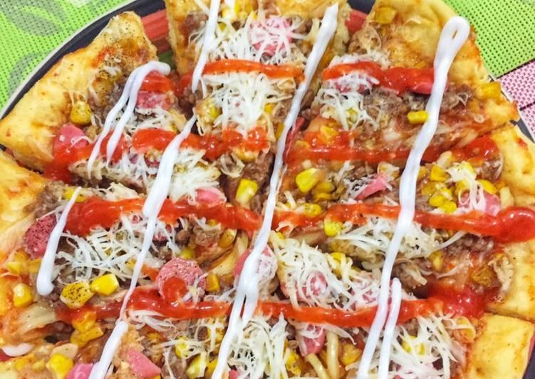 Pizza Beef Teriyaki Teflon