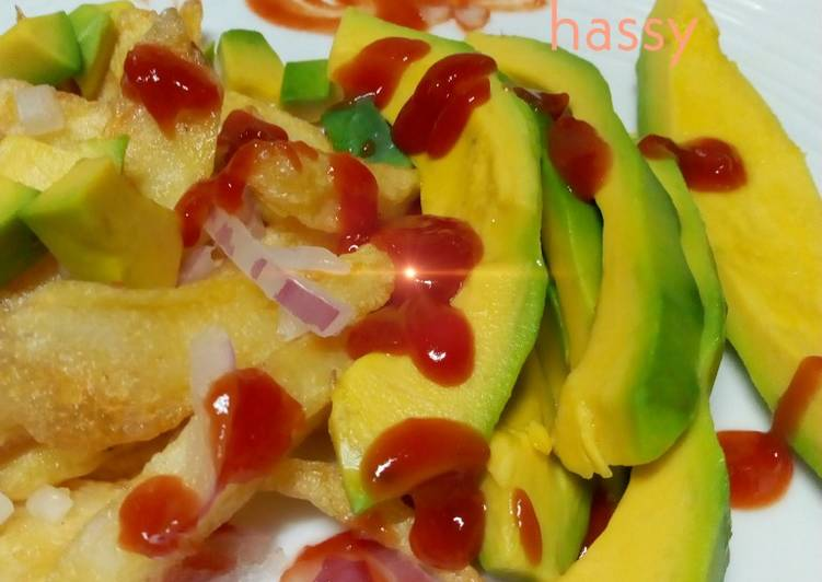 Easiest Way to Make Delicious Chips with avocado