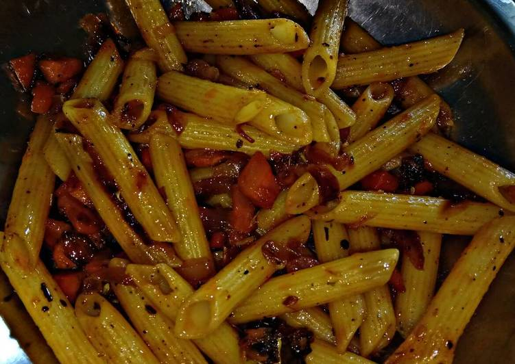 Step-by-Step Guide to Prepare Ultimate Vegetable Penne Pasta