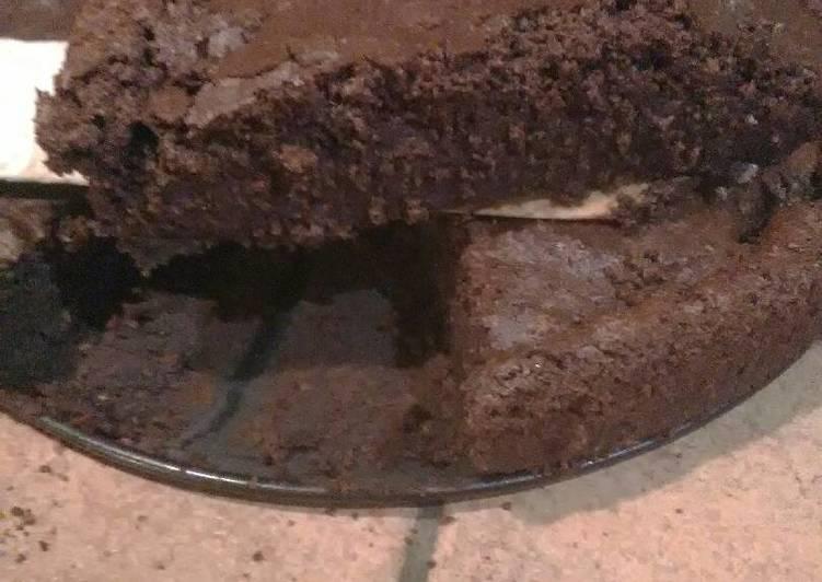Délicieux Gâteau magique choco-coco