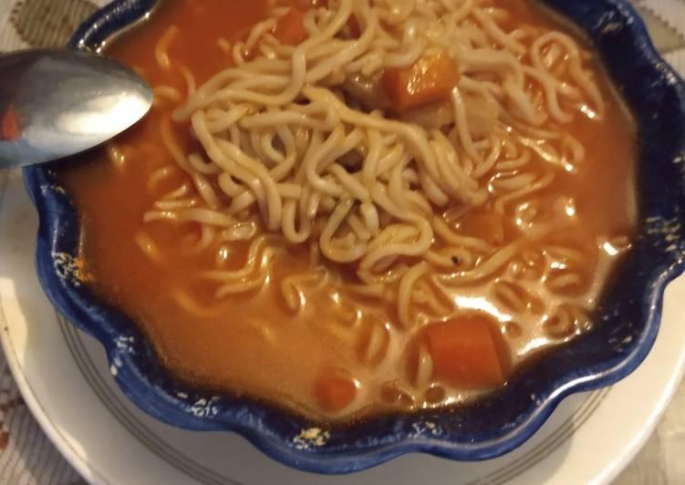 Sopa Oriental de pescado