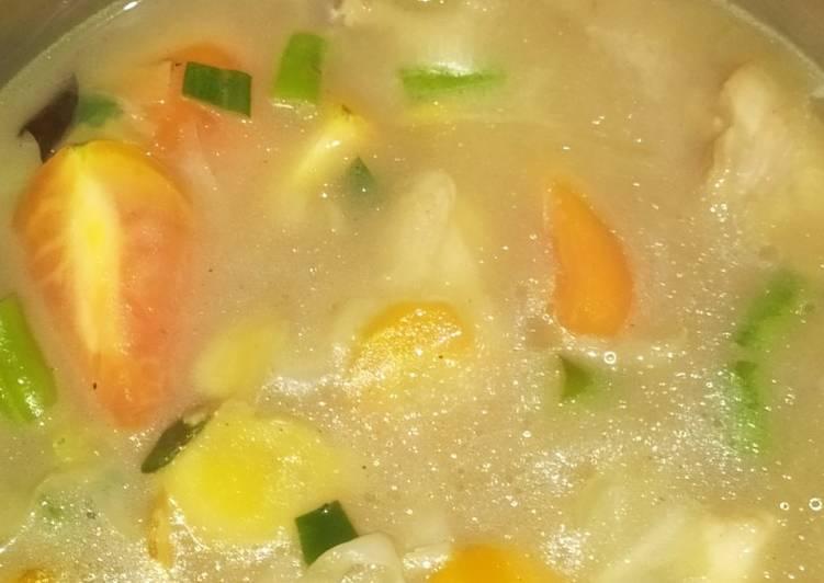 Resep Sop ayam seger Yang Mudah Sedap