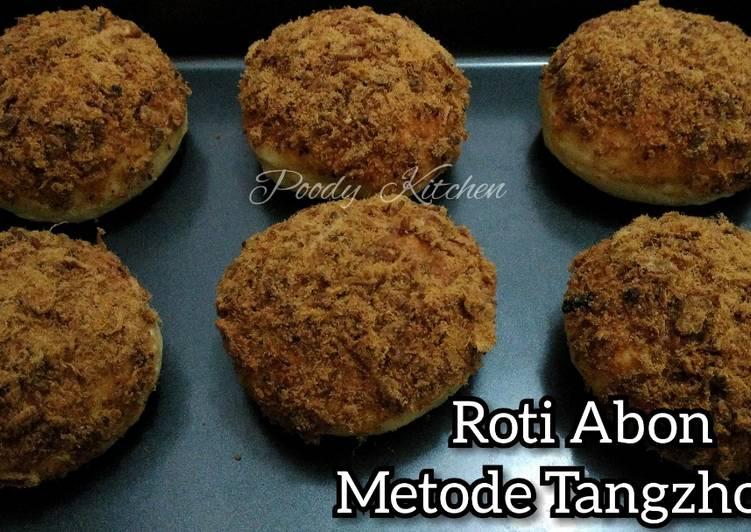 Roti Abon Metode Tangzhong
