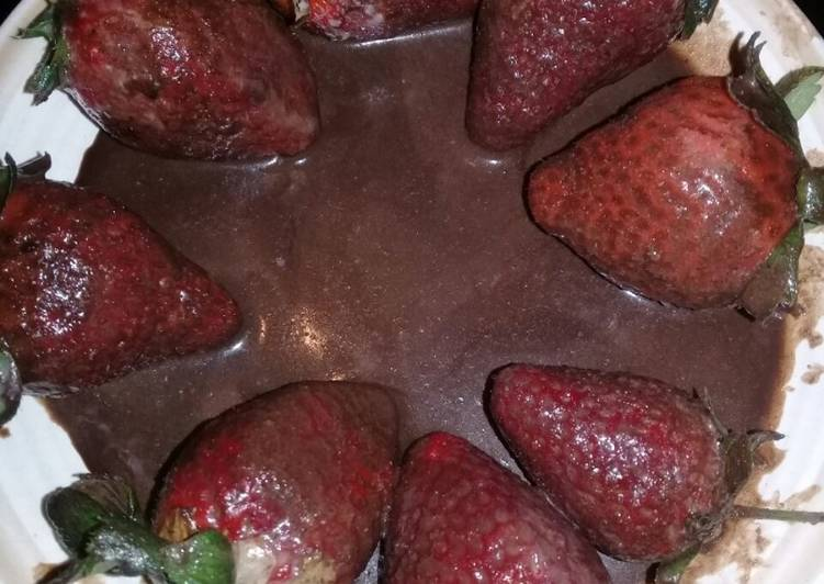 Easiest Way to Make Top-Rated Strawberries with chocolate