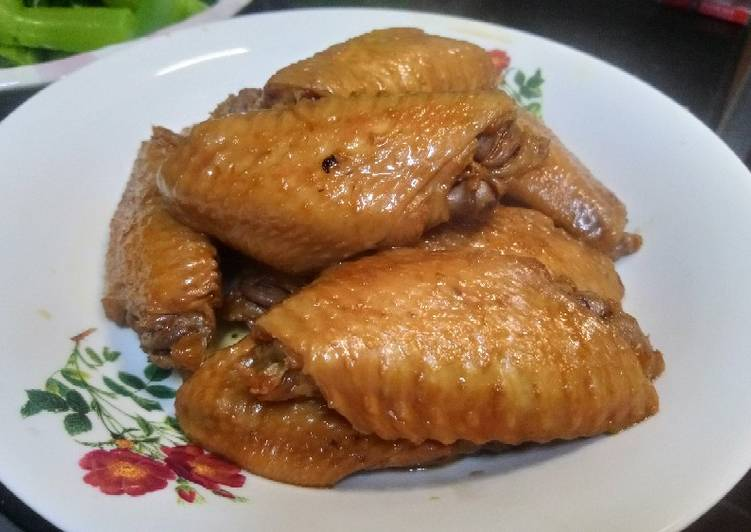 How to Prepare Favorite Chicken wing soy sauce