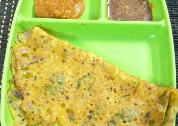 Step-by-Step Guide to Prepare Top-Rated Maize flour Dosa / Corn flour dosa