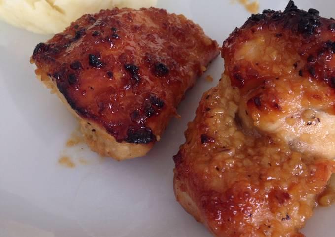Honey Dijon Garlic Chicken Breast