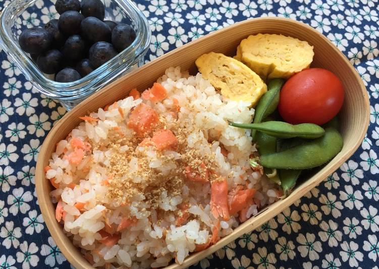 Your Overall Health Can Be Impacted By The Foods You Choose To Consume Salmon flake Bento Box