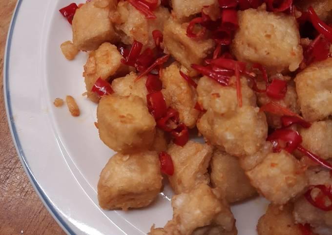 Tahu Crispy Cabe Bawang Lada Garam