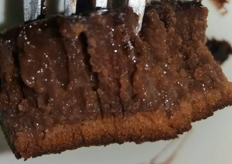 Cara membuat Bolu Coklat 'Sarang Semut'