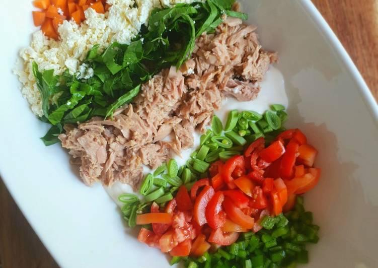 Steps to Make Homemade Tuna salad