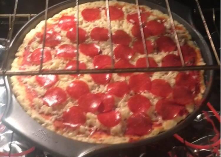 Pizza Casera Sin Levadura Muy Fácil De Hacer Receta De Valeria Frayre Cookpad
