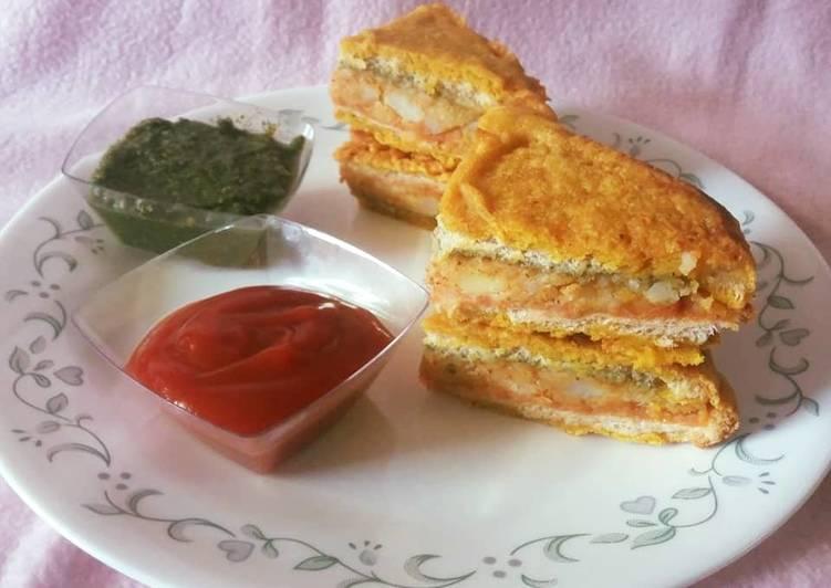 25 Minute Recipe of Super Quick Homemade Bread Pakora