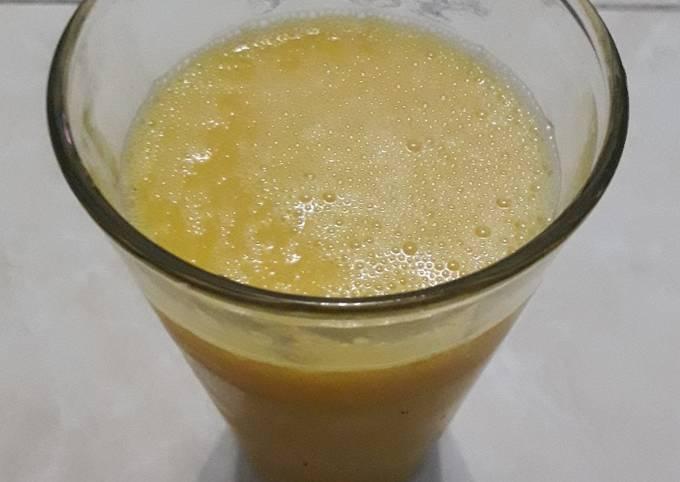 Jus tinggi serat mix melon+mangga