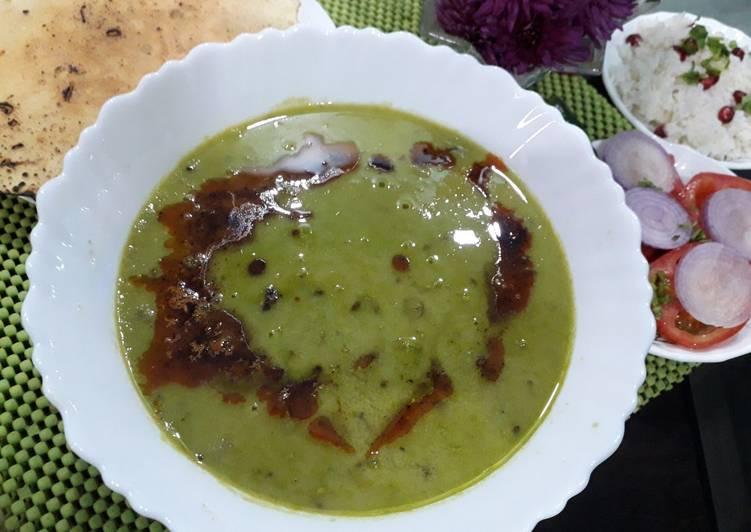 Recipe of Award-winning Green peas dal