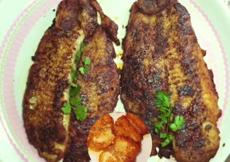 Crispy and crunchy Basa fish fry starter