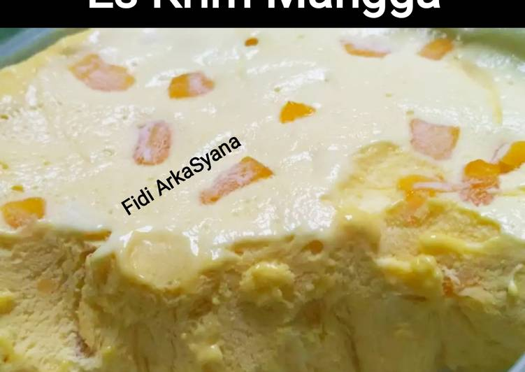 Cara Memasak Es Cream Home Made (Manggo Flavour) (W6) istimewa