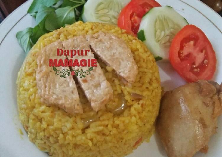 Nasi kebuli dari sisa nasi