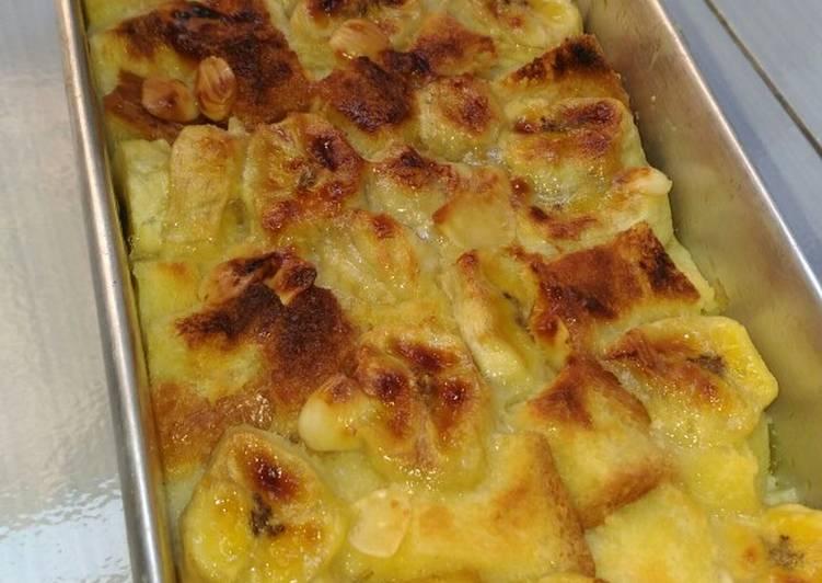 Resep Banana Bread Pudding oleh Nariza Ayunda - Cookpad
