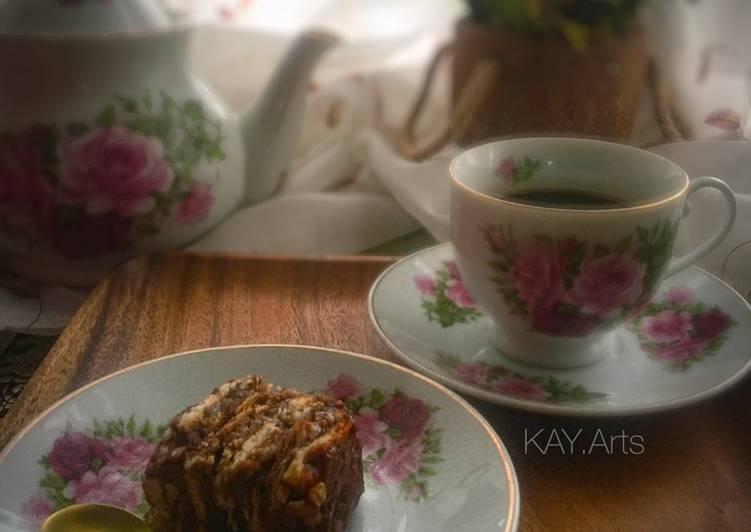 Resepi:  Kek Batik Moist Kampung Ala Biscoff  Lazat