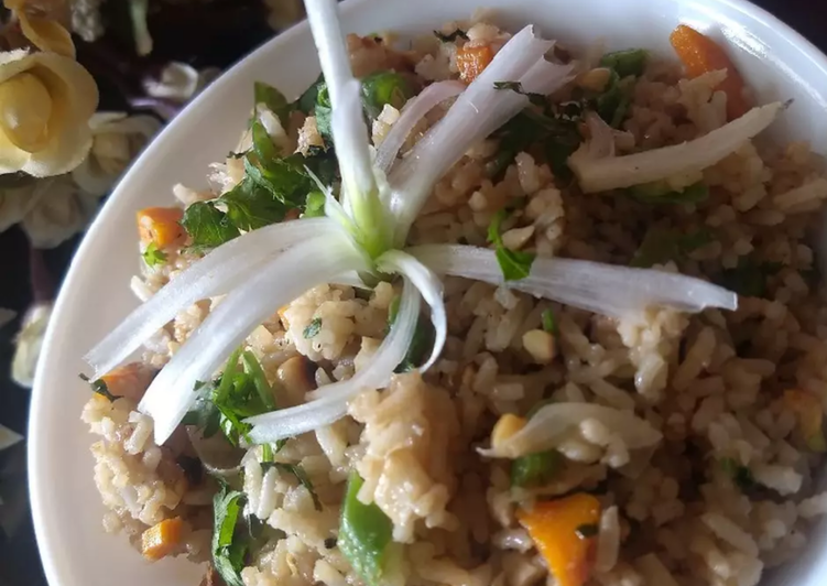 Steps to Prepare Homemade Spicy thai fried rice